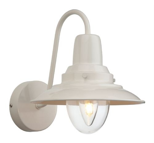 Firstlight 8686CR Cream with Clear Glass Fisherman Wall Light